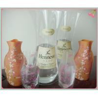 Wholesale PVC flower vase, foldable pvc vase, plastic vase for wedding from china suppliers