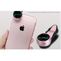 Quality Professional 3 In 1 Clip On Smartphone Camera Lens For Iphone LX-019 for sale
