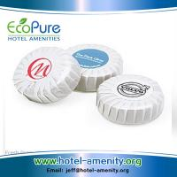 Wholesale Round pleat wrapped hotel soap | guest soap | hotem amenities soap from china suppliers