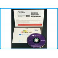 Wholesale 64 Bit DVD OEM License Microsoft Windows 10 Pro Software , win10 pro / Home oem pack from china suppliers