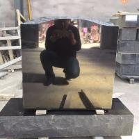 Quality China absolute black shanxi black granite grave monument on sale for sale