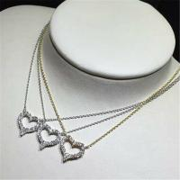 Buy cheap 18k gold white gold yellow gold rose gold diamond  necklace from wholesalers