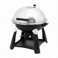 Quality S/S Trolley Charcoal BBQ Grills, Easy for Taking Outdoor for sale