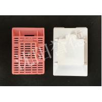 Wholesale PP POM Tissue Processing Cassettes , Multi Chambers Histology Cassette Flow Through Strip Holes from china suppliers