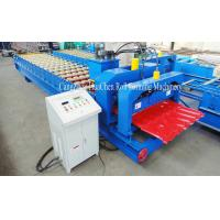 Wholesale High Precision Villa Glaze Tile Roll Forming Machine 1220mm With 15 Row Rollers from china suppliers