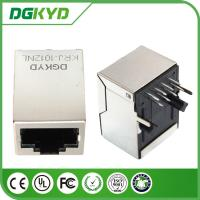Wholesale Modular RJ45 PCB Jack With Lan Transformer , PCB Mount RJ45 from china suppliers