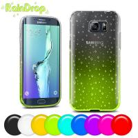 Buy cheap Personalised Soft plastic Samsung Galaxy S6 Edge  case cover with multi colors from wholesalers