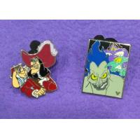 Wholesale Nickel Plating Funny Cartoons Soft Lapel Enamel Pins , Metal Cute Enamel Pins from china suppliers