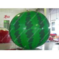 Wholesale Custom Durable 1.8mm PVC Watermelon Grand Opening Balloons With Silk Printing from china suppliers