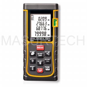 Wholesale 80M 262ft handheld Laser distance meter trena Laser Range finder Rangefinder Tape measure from china suppliers