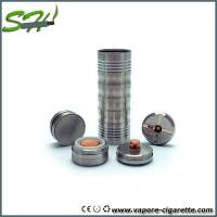 Wholesale Adjustable 26650 Mechanical Mod with 4 vent holes , Big nasty mod clone from china suppliers