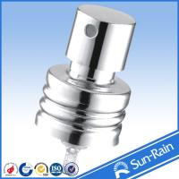 Wholesale 18/410 Bright Silver Plastic water mist mini perfume bottles spray from china suppliers