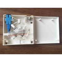 Wholesale White ABS Material Optical Distribution Box 2 Ports Fiber Optic Faceplate from china suppliers