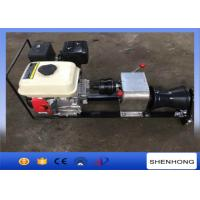 Wholesale Steel Gas Engine Powered Winch 1 Ton With Axle Bar Driven Tranmission from china suppliers