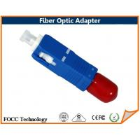 Wholesale Hybrid Tipe Fiber Optic SC Male to ST Female Hybrid Adapter, 9/125μm Singlemode from china suppliers