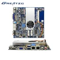Quality I5 5200U Mini ITX Industrial Motherboard With Dual NIC Intel I5 Processor for sale