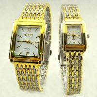 Wholesale Couple Lovers Metal Wrist Watch Alloy Case & Band Gift for Valentine's Day from china suppliers