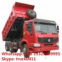 Wholesale SINO TRUK HOWO brand LHD 6*4 30tons dump tipper truck fpr sale, hot sale best price HOWO brand 25tons-3tons tipper truck from china suppliers