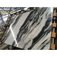 Wholesale Luxury Italian Marble Slabs , Panda White Marble Slab With Gray Lines from china suppliers