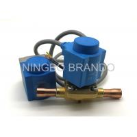 Wholesale Normally Closed EVR Refrigeration Solenoid Valve Air Conditioning , Solenoid Operated Valve from china suppliers