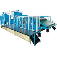 Buy cheap Fiber Processing / Nonwoven Carding Machine High Performance Dust Collection from wholesalers