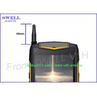 Wholesale Dual camera dual sim rugged lte smartphone android 5.1 3g walkie talkie from china suppliers