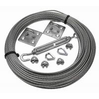 China Galvanised wire cable assemblies Catenary Kits 3MM steel wire rope on sale