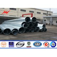 Wholesale 135kv Electricity Self Supporting Distribution Power Transmission Poles AWS D1.1 from china suppliers
