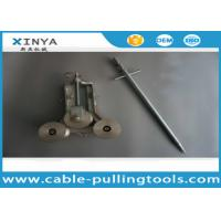 Wholesale SJL-100 Cable Pulling Tools , Casting Aluminum Grounding Pulley from china suppliers