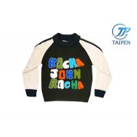 Wholesale Custom Size Logo Printed Long Sleeve Knitting Patterns Kids Sweaters, Cotton Cardigan from china suppliers
