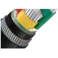 Wholesale Galvanized Steel Wire  Armoured Electrical Cable 4 Cores Low Voltage  XLPE or PVC Insulation AL Cable from china suppliers