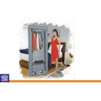 Wholesale DIY Metal Closet Large Folding Fabric Wardrobe , Non Woven Storage Wardrobes for Bedroom from china suppliers