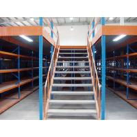 Wholesale Double Storey Warehouse Pallet Rack Mezzanine , Cargo Stock Heavy Duty Shelving from china suppliers