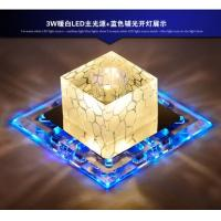Quality LED crystal aisle ceiling light luminarias home decoration entrance lights led corridor for sale