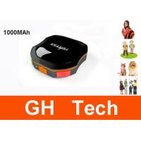 Wholesale Portable 1000MAh Dog GPS Tracker IPX6 Waterproof For Pets / Animals Tracking from china suppliers