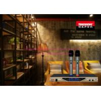 Wholesale True Diversity Dual Channel Wireless Microphone Systems With Receiver from china suppliers