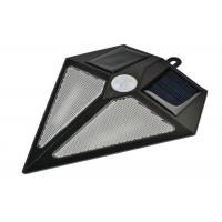 Quality Triangle Solar Powered Motion Sensor Security Light Environmentally Friendly for sale