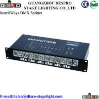 Wholesale Rack Mount DMX Lighting Controller 10W DMX Splitter Electronic Isolation from china suppliers