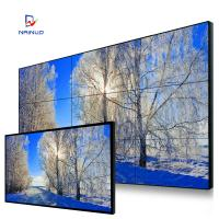 Wholesale 1x4 Ultra Narrow Bezel Video Wall Screens , Exhibition Seamless Lcd Video Wall Hdmi Input from china suppliers