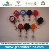 Quality China Factory Direct Multi Styles Custom Logo Printing Plastic Retractable Badge Reel Holders for sale