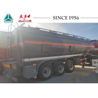Wholesale 27000 Liters Hydrochloric Acid Tanker Trailer, 3 Axle HCI Tanker Trailer from china suppliers