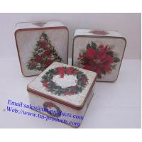 Wholesale Christmas Box  set, metal  Christmas Box, Christmas  Case, Gift  metal set from China from china suppliers