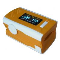 Wholesale Yellow Color OLED Digital Fingertip Pulse Oximeter SPO2 Patient Monitor , Four Directions from china suppliers