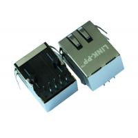Wholesale ARJ11B-MBSBQ-A-B-EMU2 Tab Down 1 X 1 Port RJ45 Ethernet Jack With G/Y LED from china suppliers