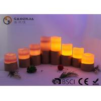Quality Colorful Outdoor Electric Candles Set , Waterproof Flameless Candles for sale
