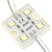 Wholesale Warm White 1.44W DC12V Waterproof 5050 SMD LED Module with CE & RoHs from china suppliers