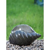 Quality Shell Shape Cast Stone Fountains For Home Decoration Weather Resistant for sale
