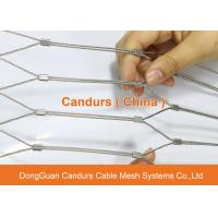 Wholesale AISI 316 Flexible Stainless Steel Wire Cable Protection Mesh For Safety from china suppliers