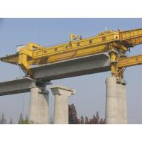 Wholesale Large Girder Gantry Crane , bridge girder launcher 20ton - 900ton  with Electric Hoist from china suppliers
