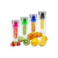 Wholesale colorful tritan water bottle with Fruit Infuser from china suppliers